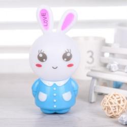 WORA Night Lamps Bunny Cartoon Rabbit Kids Room Light Sensor LED Night Light Night Lamp(12.5 cm, Multicolor)