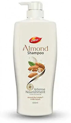 Dabur Almond Shampoo - With Almond-Vita Complex & Milk Extracts - 650 ml