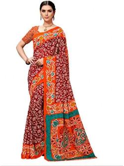 Vamsi women's saree with blouse