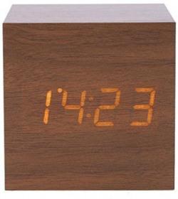 Adonai Digital Brown Clock