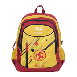 FIFA 40 Ltrs Red::Yellow School Backpack (MBE-FF007)
