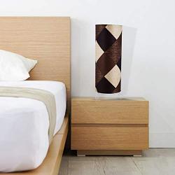 Tu Casa L-855 Circular 220-Watt Table Cum Floor Lamp (Multicolour)