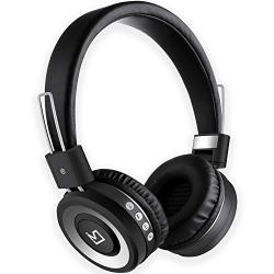 iVoltaa X100 Bluetooth Headphones with Mic (Black)