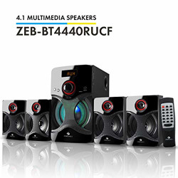 (Renewed) Zebronics BT4440RUCF 4.1 Channel Multimedia Speakers