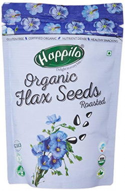 Happilo Premium Roasted Mix of Pumpkin, Flax, Sunflower (Lightly Salted) 250g ( Pack of 2 )