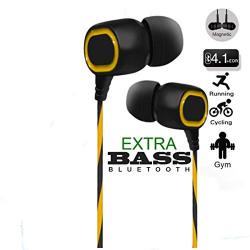 ruAva ORKIA Boom Deep Bass In-Ear Sweatproof Wireless Bluetooth Earphone with Mic