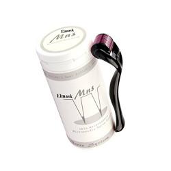 Elmask Mns Derma Roller 540 Titanium Micro Needles Roll Treatment Of Skin Acne Scarring Hair Loss Rides Blackheads Lines Sun Damaged 1.5Mm