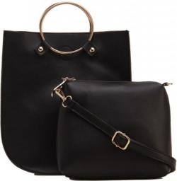 Fiona Trends Women Black Hand-held Bag