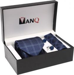 ManQ Printed Tie(Pack of 4)