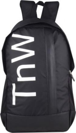 TnW BackPack 15.5 L Laptop Backpack(Black)