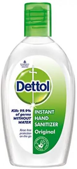 Dettol instant hand sanitizer at rs.25/_