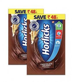 Horlicks Health and Nutritional Drink - Super Saver 2kg Pack (Chocolate Delight Flavor)
