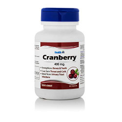 Healthvit Pure Cranberry Extract 400 mg - 60 Capsules