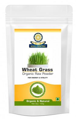 Soul Centric Organic Wheat Grass Powder for Good Health (100 Gm)