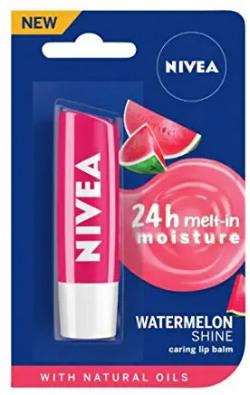 Nivea lip balm fruity watermelon shine 4.8g