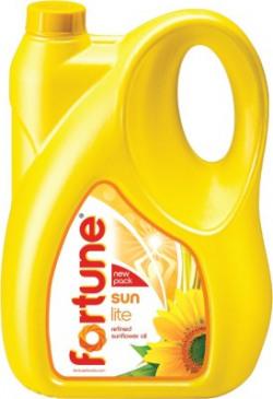 Fortune Sunlite Refined Sunflower Oil Can(5 L)