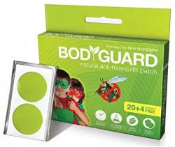 Bodyguard premium natural anti mosquito repellant patches