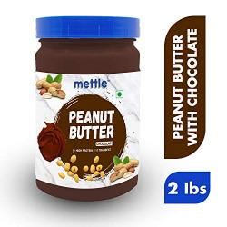 Swasthum Mettle Peanut Butter Dark Chocolate 907g (Gluten Free / Non-GMO, Vegan)
