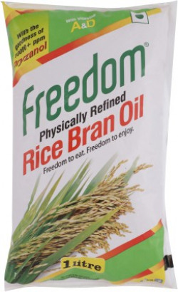 Freedom Physically Refined Rice Bran Oil Pouch(1 L)