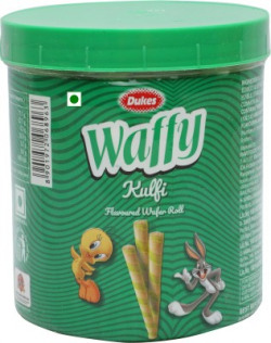 Dukes Waffy Kulfi Flavoured Wafer Rolls(250 g)