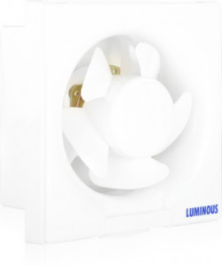 Luminous Vento Dlx 150 mm 5 Blade Exhaust Fan(White)