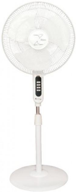 Zigma 1615 ISI 400 mm Ultra High Speed 3 Blade Pedestal Fan(WHITE, Pack of 1)