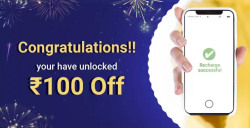 Flat Rs.100 off on recharges and bill payments  minimum value Rs.200
