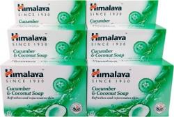 Himalaya Cucumber & Coconut Soap(6 x 125 g)