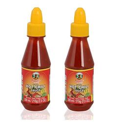 Pantai Thai Hot Chili Sauce, 200 ml (Pack of 2)