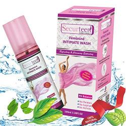 Securteen Natural pH Balanced Intimate Wash (100-ML)