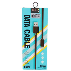 LQ Brown Color Data Cable comapatible for iPhone(Y19)