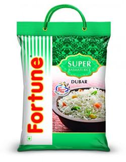 Fortune Super Dubar Basmati Rice, 5 Kg