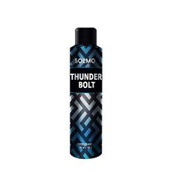 Amazon Brand - Solimo Thunder Bolt Deodorant For Men, 150 ml