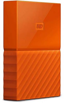 WD My Passport 1TB Portable External Hard Drive (Orange)