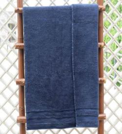 Blue cotton 550Gsm bath towel
