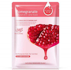 GlamTools® Real Nature Pomegranate Face Mask 20g