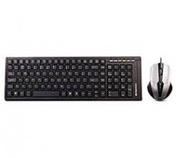 Zebronics Judwaa 580 Wired Keyboard and Mouse Combo (Black)
