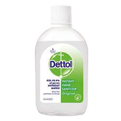 Dettol Original Germ Protection Alcohol based Hand Sanitizer, 60ml @ Rs.30
