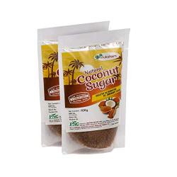 PNC - Pavitram Nature Care Organic Coconut Sugar 100 Grams Pack of 02