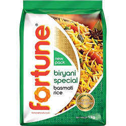 Click to open expanded view Fortune Special Biryani Basmati Rice, 1kg
