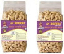 La rosera premium cashew nuts 500g(packnof 2)