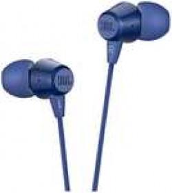 JBL C50HI In-ear Wired Headphone ( Blue )