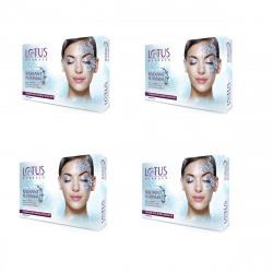 Lotus Herbals Radiant Platinum Cellular Anti-Ageing Facial Kit, 37g