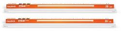 Halonix Streak Squar 20-Watt LED Batten (Pack of 2, Warm White, Square)