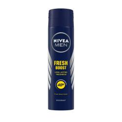 NIVEA MEN Deodorant, Fresh Boost, 150ml