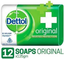 Dettol Original Soap - 125 g (Pack of 12