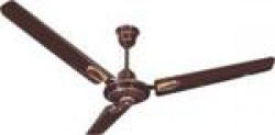 Candes i-Flurry Antidust-Rust 1200 mm 3 Blade Ceiling Fan (Brown, Pack of 2