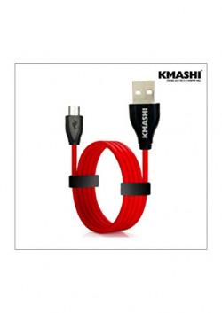Kmashi K-MC003 Micro USB Cable - 4.92 Feet (1.5 Meters) - (Red)