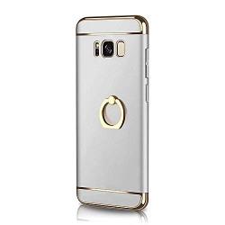 Samsung Galaxy S8 Plus Three-Part Bracket Feature Case, Ultra-Light Shockproof Portable Phone Cover Joyhouse (Silver)