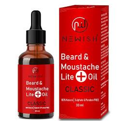 Newish Beard Oil Men For Original Growth 30ml